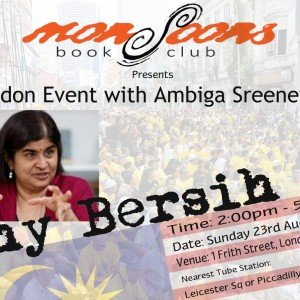 Ambiga in London - WHY BERSIH 4