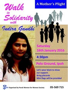Jom, mari jalan bersama Indira