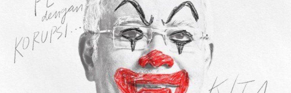 Najib stop clowning around. Fahmi Reza has united Malaysia.