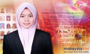 Kelantanese Physicist Hafizah Noor Isa Credit Malaysiakini