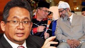 Terengganu MB and Zakir Naik. Photo Credit FMT