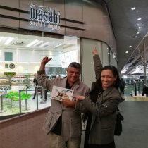 Zunar and I with two wasabi