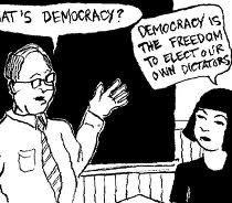 democracy Malaysia style