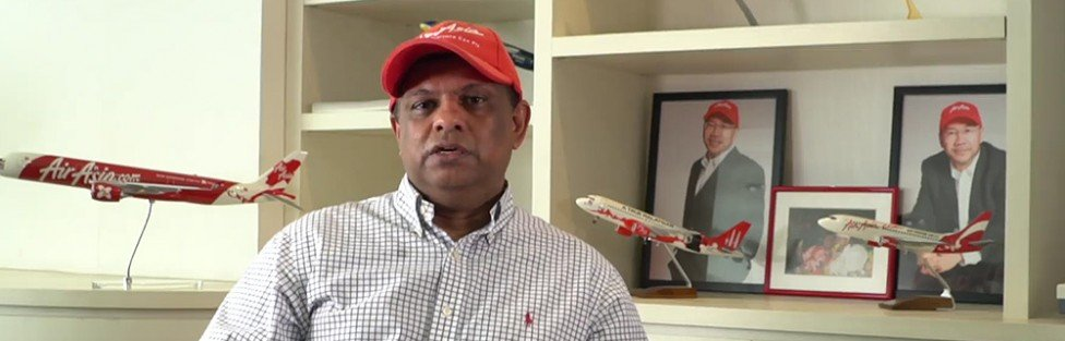 No more pulling wool over our eyes, superstar Tony Fernandes!